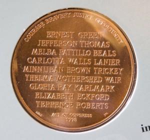 Little Rock Bronze Medal African American Coins