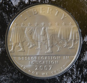 African American Coins-Little Rock Commemorative Set