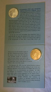 Little Rock Commemorative Coin and Medal Set