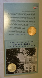 Little Rock Commemorative Coin and Medal Set-African American Coins