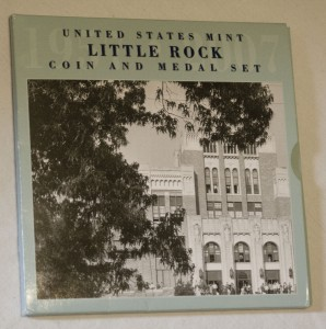 Little Rock Commemorative Set-Front- African American Coins