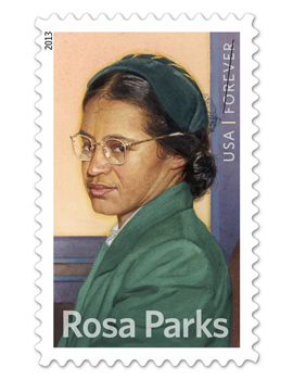 Rosa Parks Stamp US Commemorative